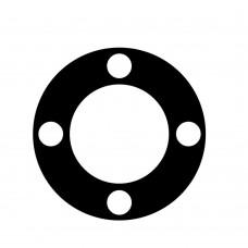 F10 flange rubber gasket