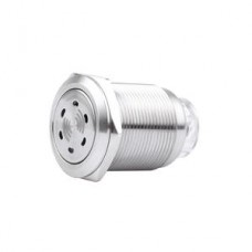 22mm 24VAC/DC buzzer red LED