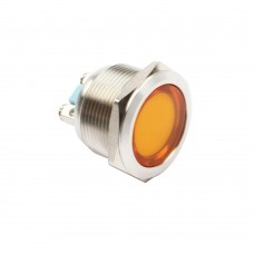 22mm indicator light amber 24VAC/DC