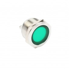 22mm indicator light green 24VAC/DC