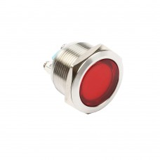 22mm indicator light red 24VAC/DC