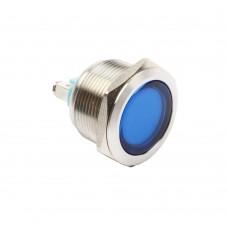 22mm indicator light blue 24VAC/DC
